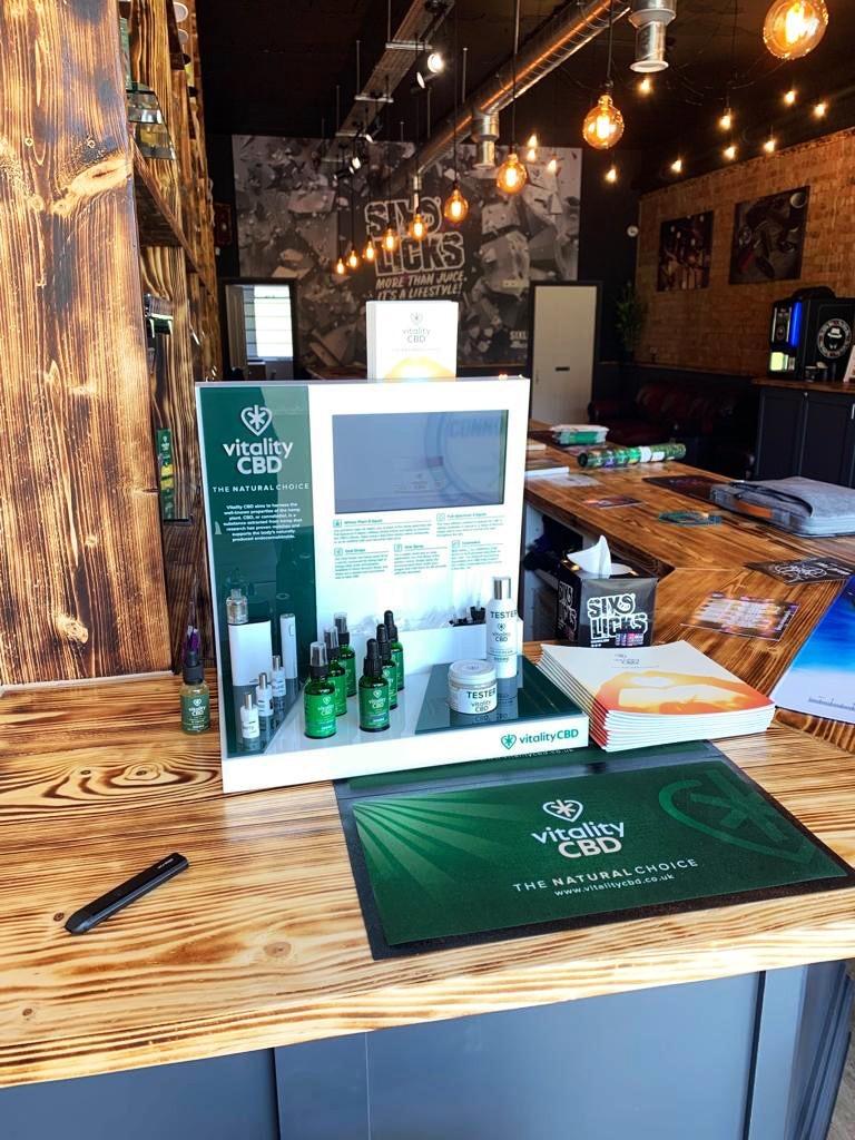 Vitality CBD Tasting Station